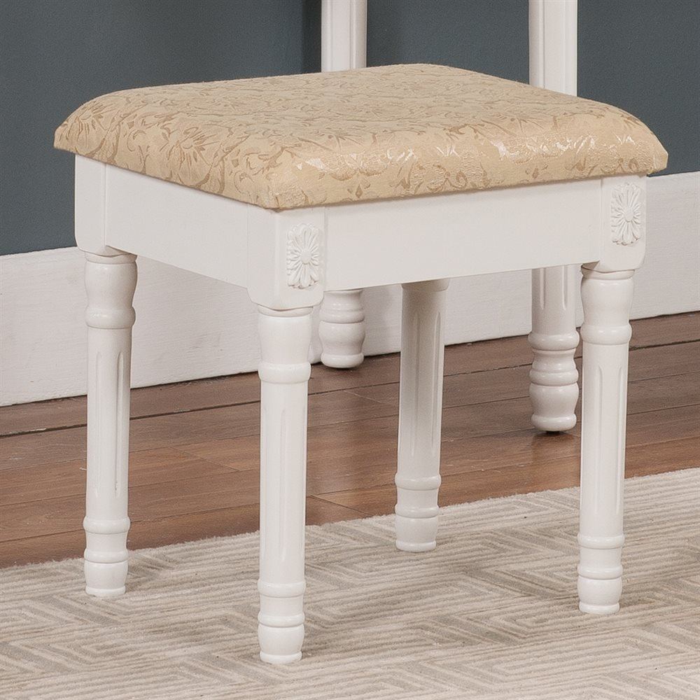 Best Kb Furniture V1037 Vanity Stool Atg Stores With Pictures