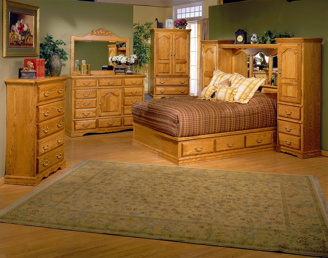 Best Country Heirloom Bedroom Suite With Pier Wall Headboard With Pictures