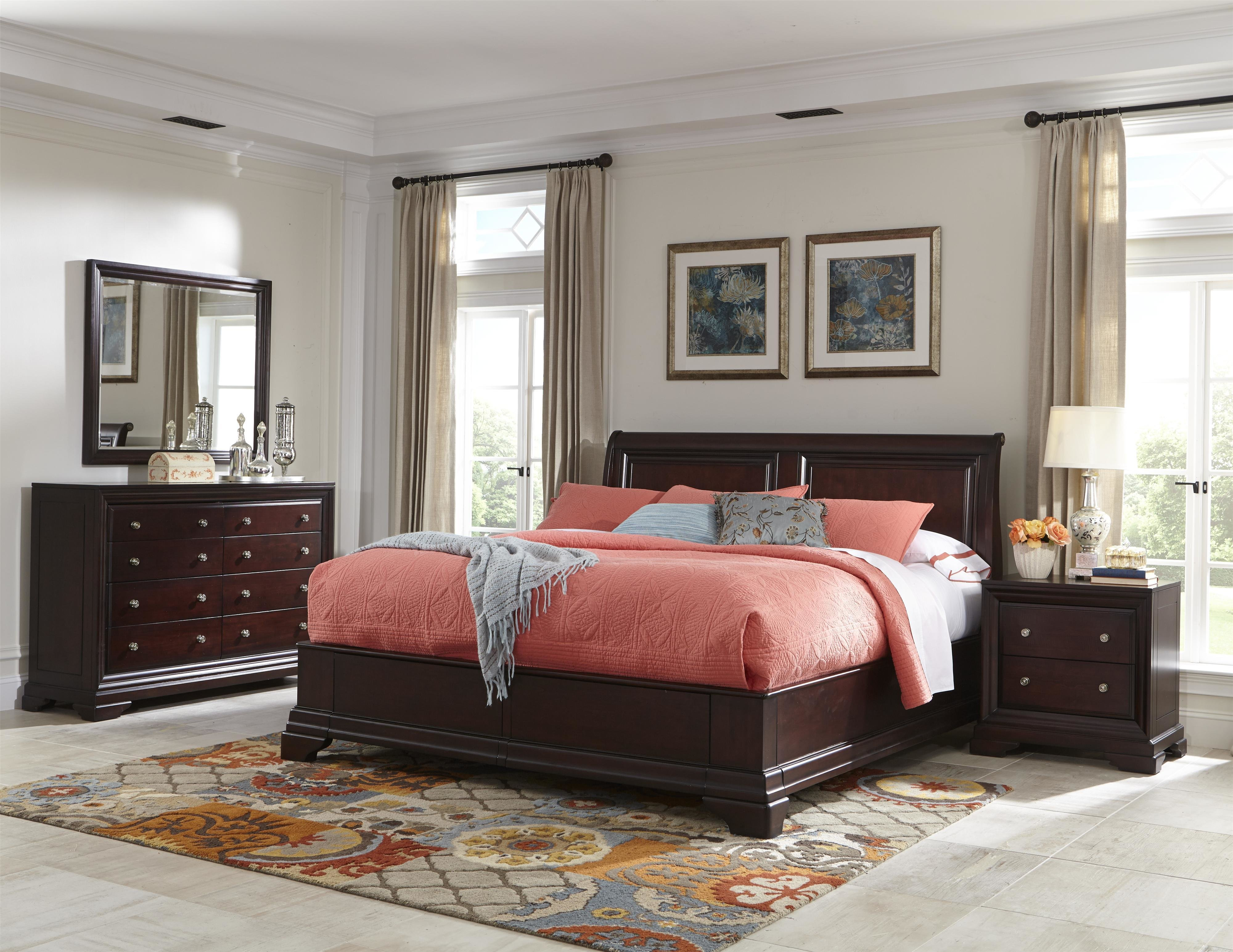 Best Cresent Fine Furniture Newport King Bedroom Group With Pictures
