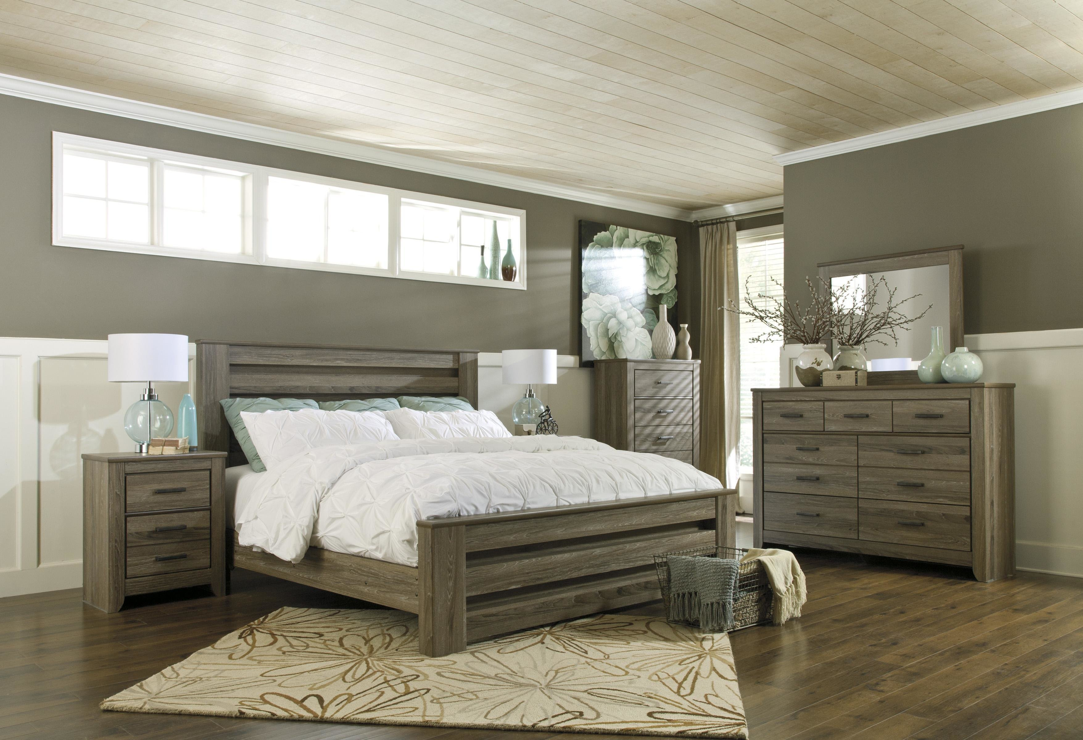 Best Signature Design By Ashley Zelen King Bedroom Group Del With Pictures