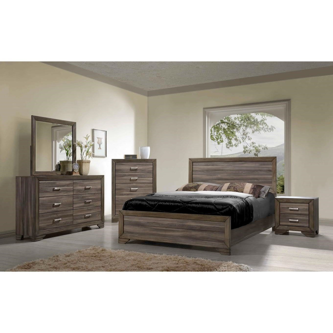 Best Bernards Asheville Queen Bedroom Group Wayside Furniture With Pictures