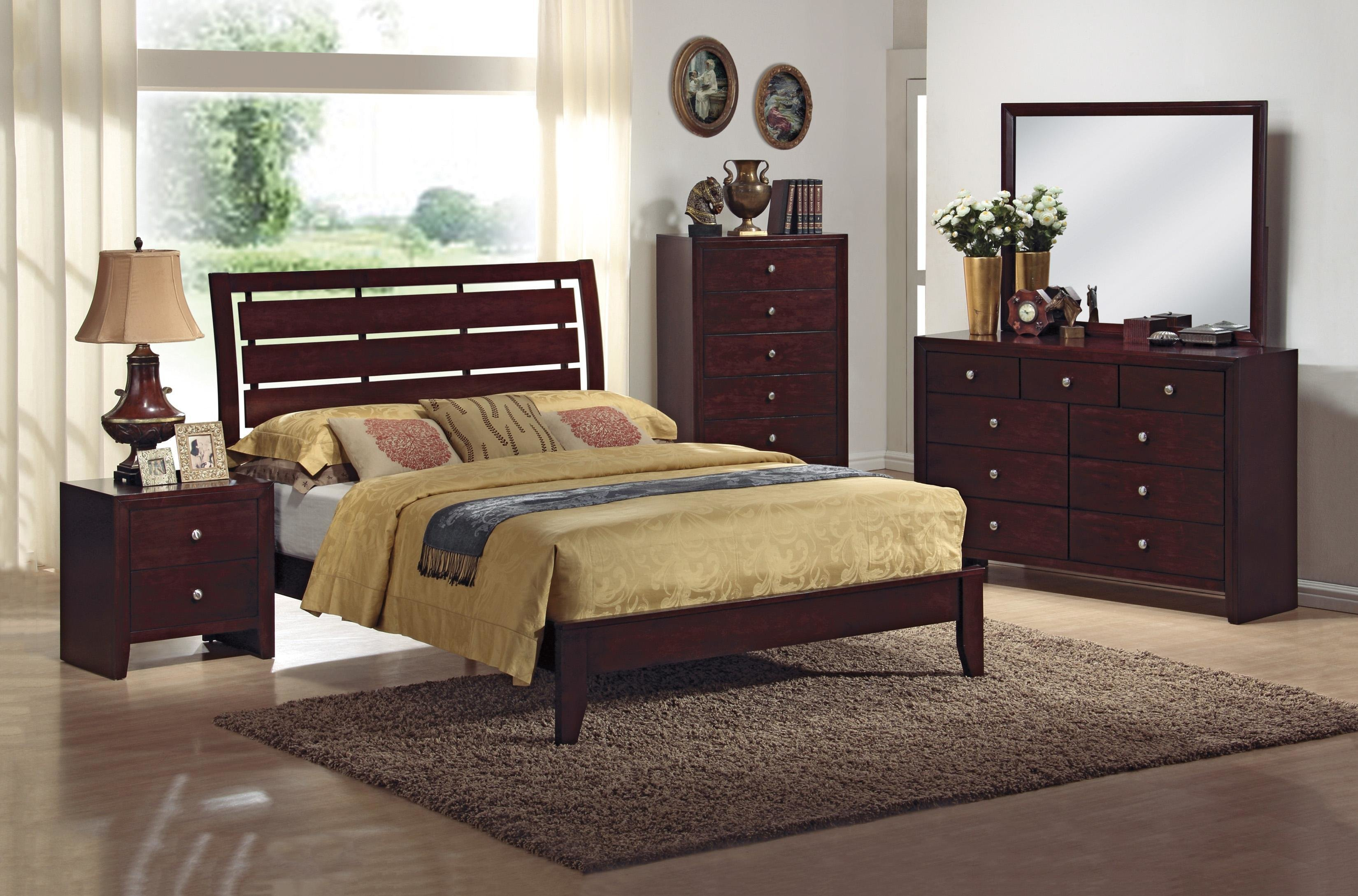 Best Crown Mark Evan 4 Piece Bedroom Group Dunk Bright With Pictures