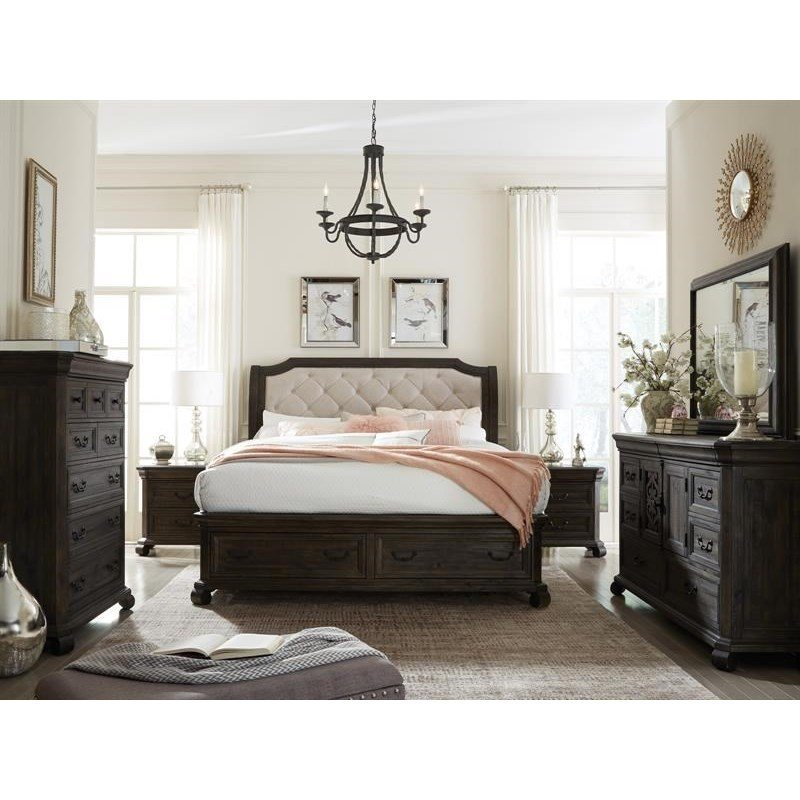 Best Magnussen Home Bellamy Queen Storage Bedroom Group With With Pictures