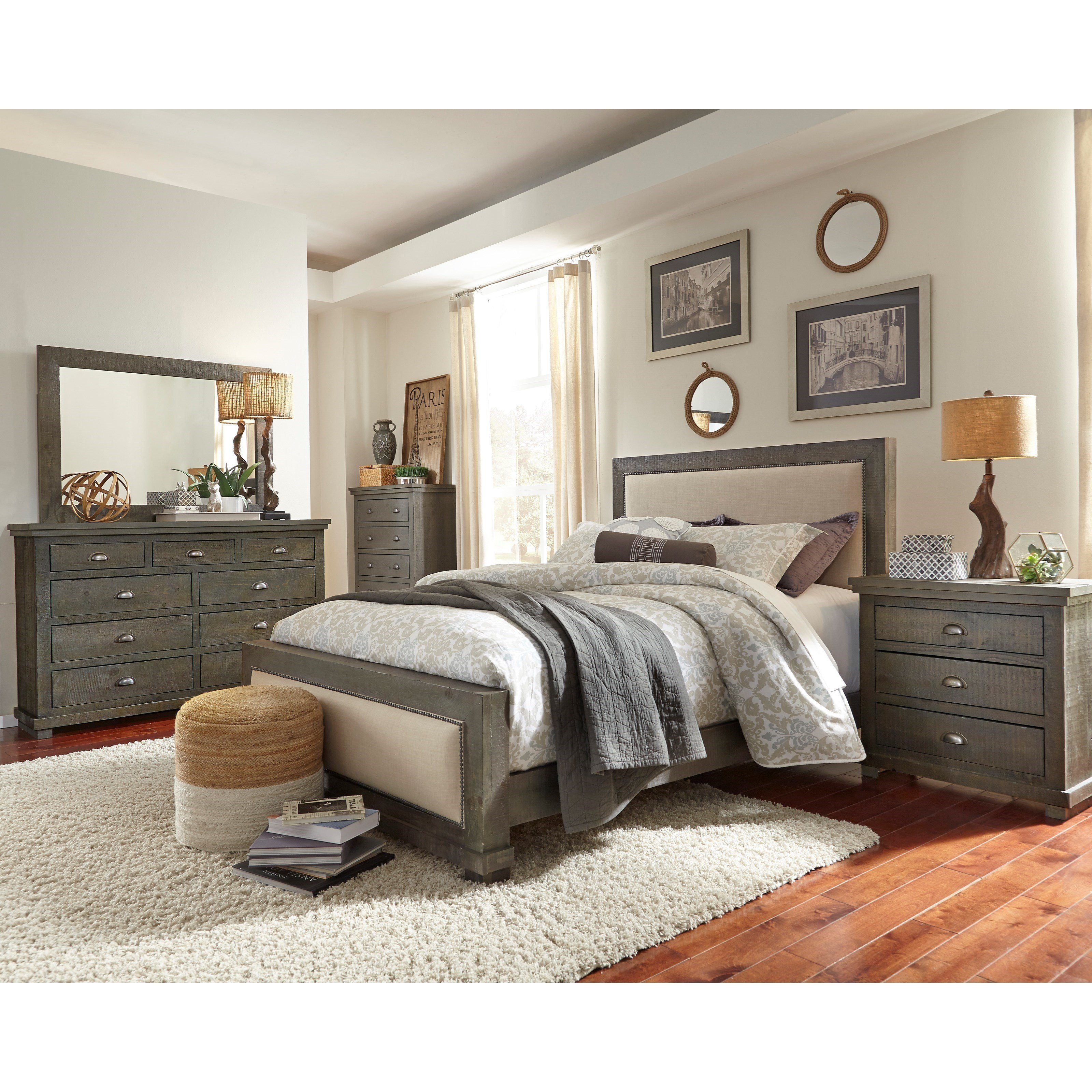 Best Progressive Furniture Willow King Bedroom Group Colder S Furniture And Appliance Bedroom Groups With Pictures