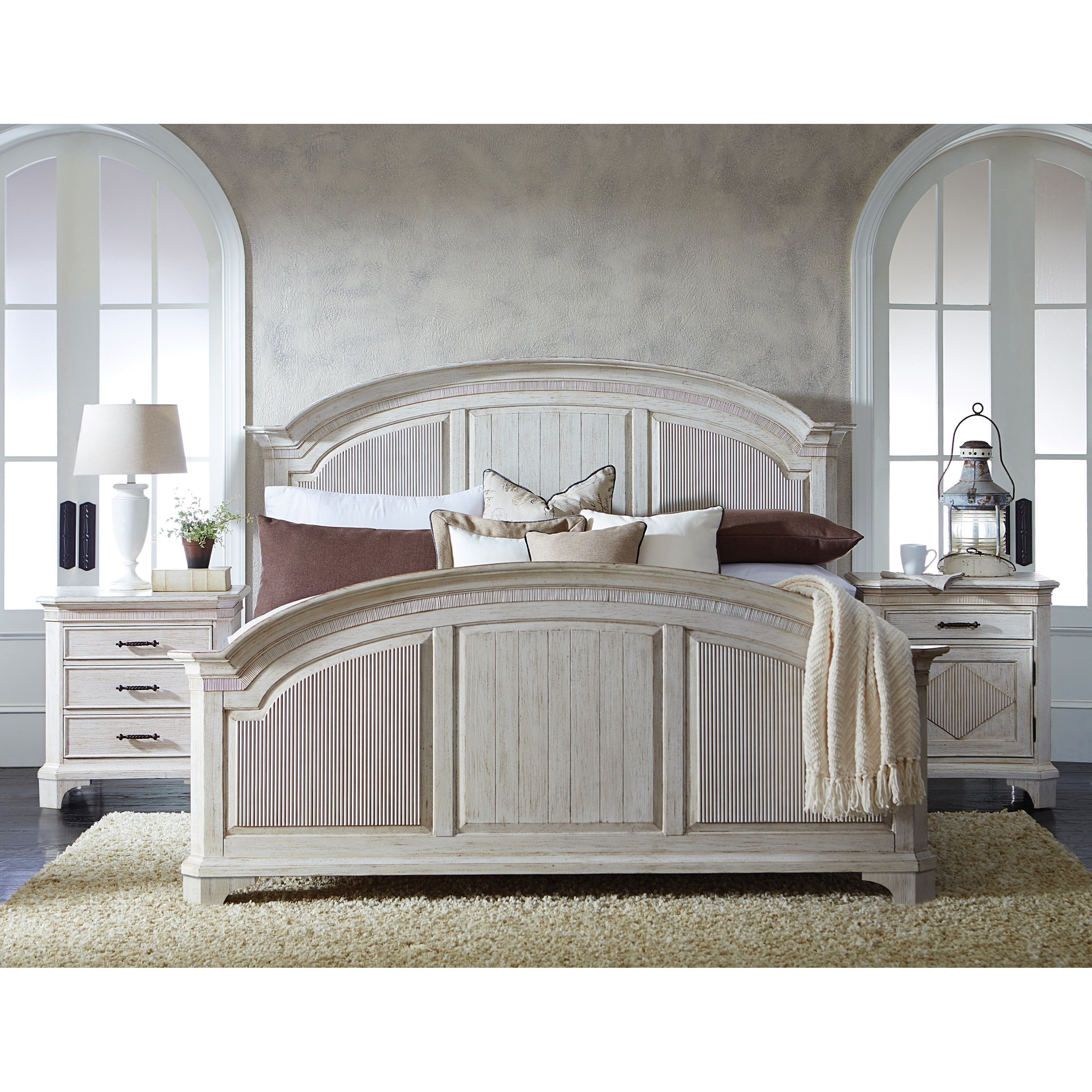 Best Riverside Furniture Aberdeen Queen Bedroom Group 4 Value With Pictures