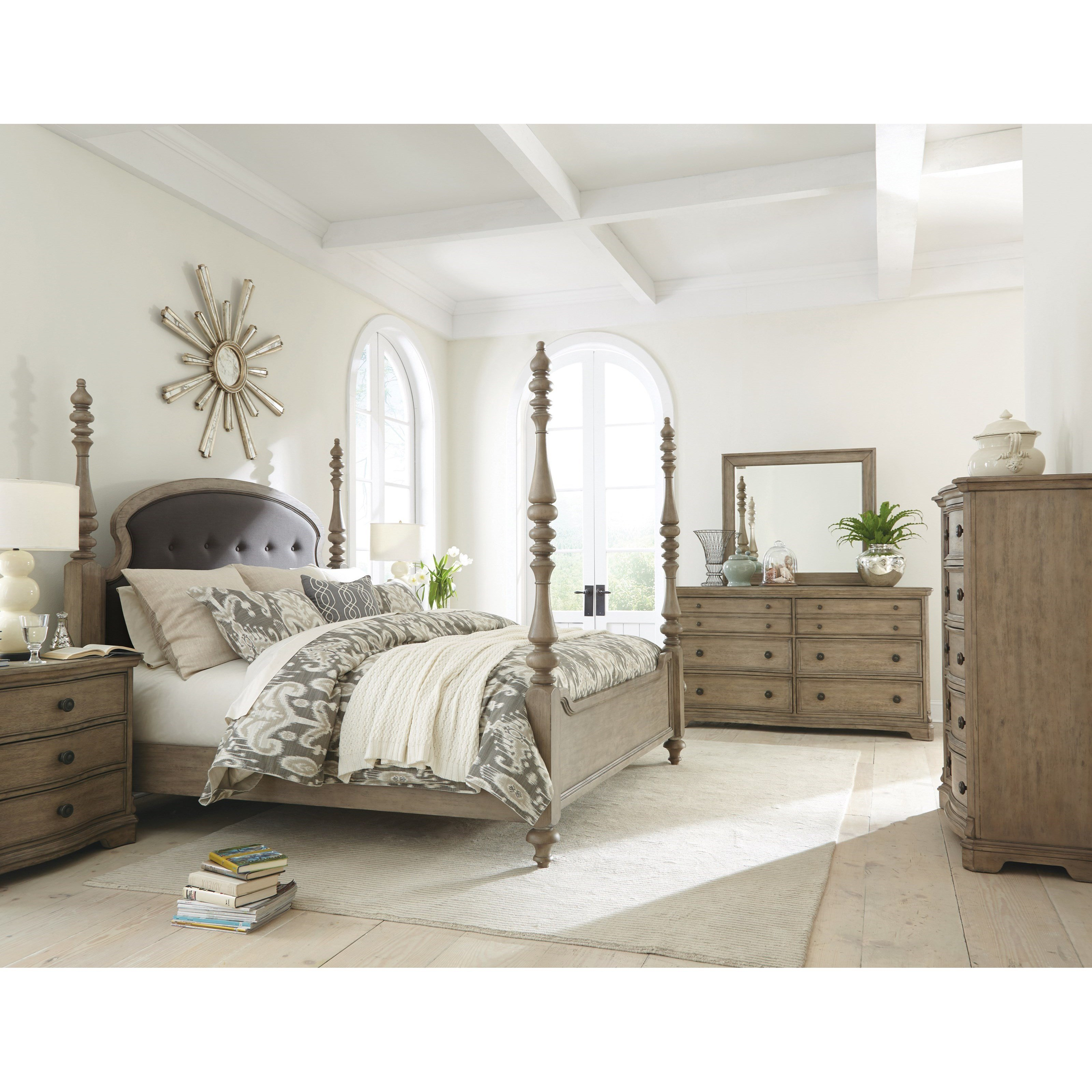 Best Riverside Furniture Corinne King Bedroom Group 3 Hudson With Pictures