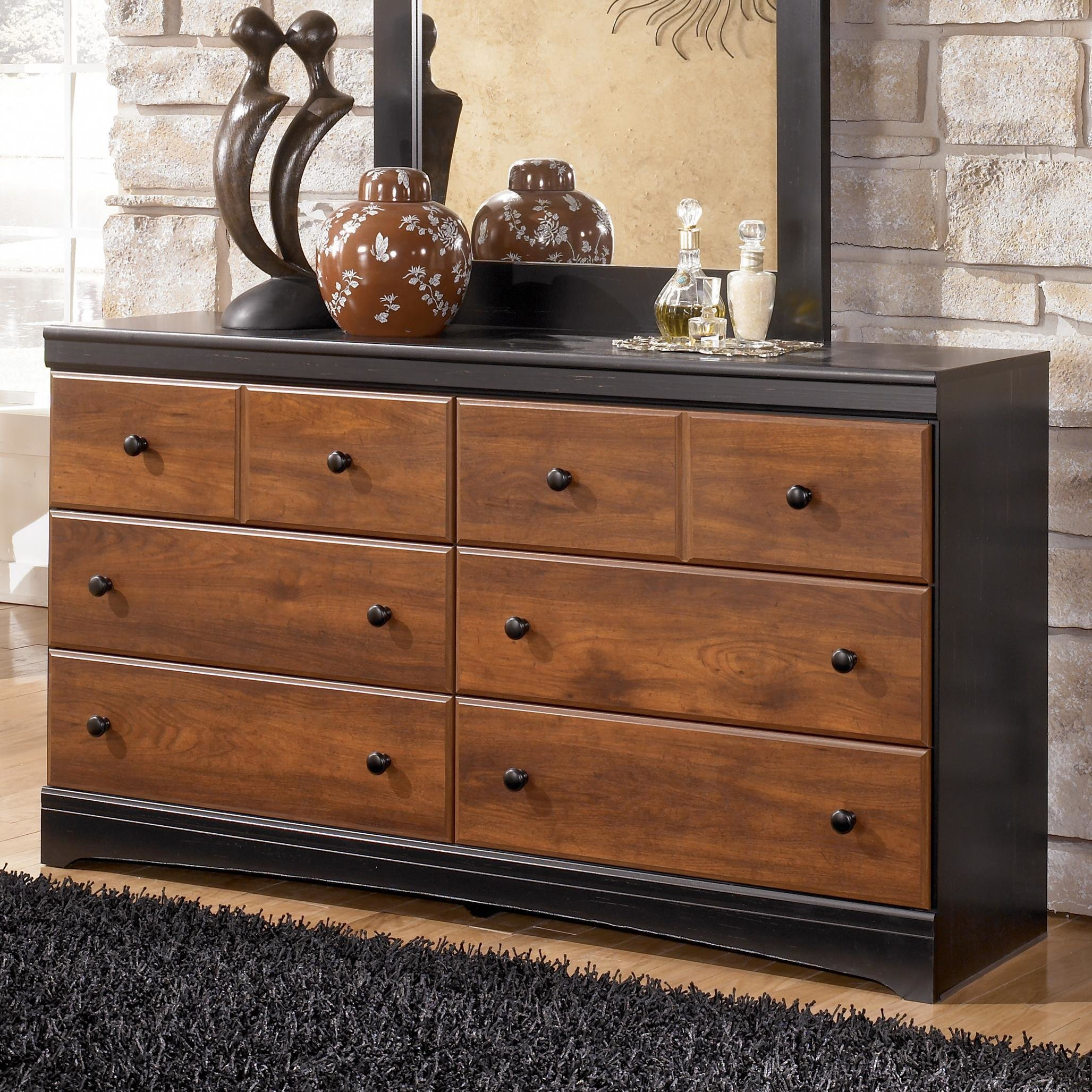 Best Ashley Signature Design Aimwell B136 31 Two Tone Finish With Pictures