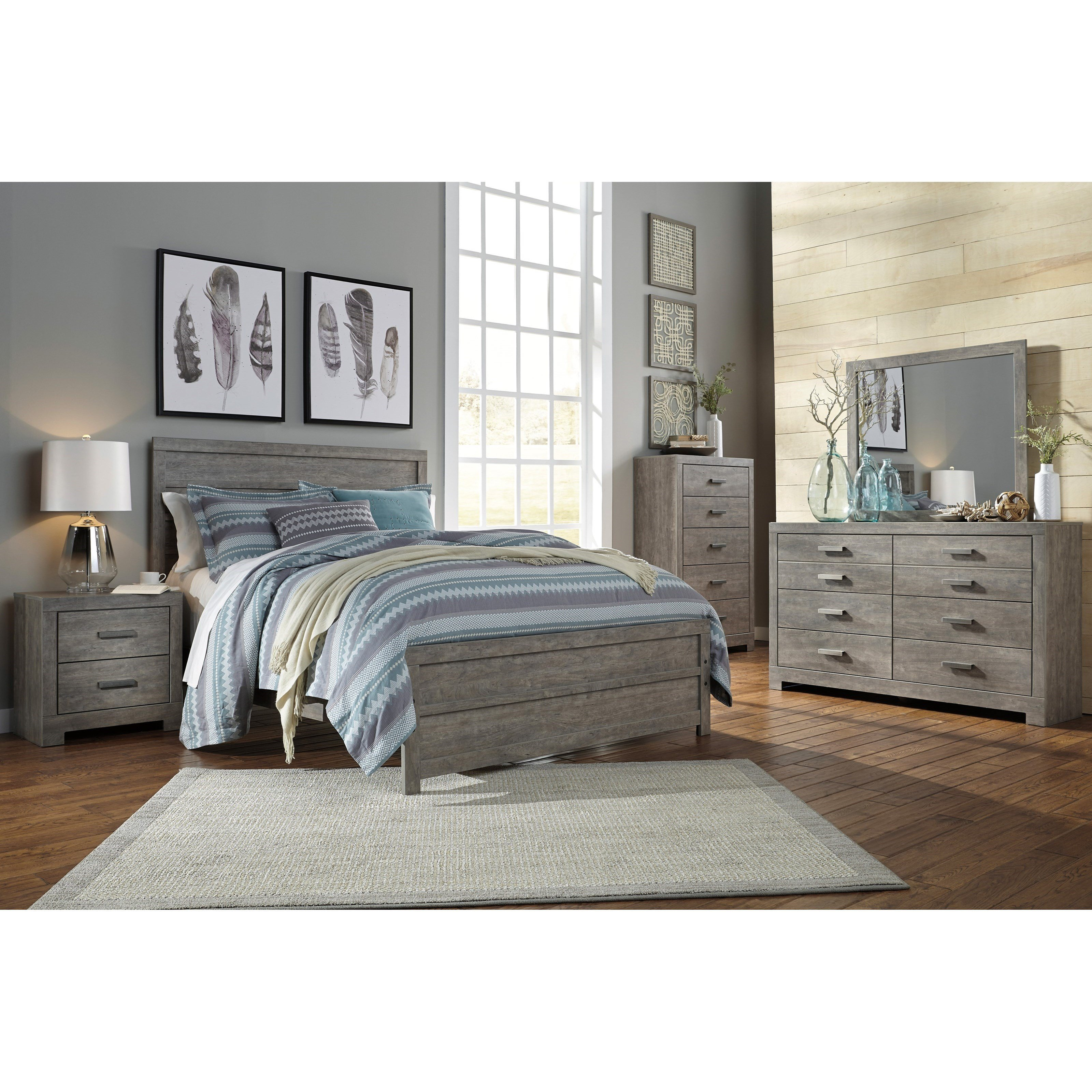 Best Signature Design By Ashley Culverbach Queen Bedroom Group With Pictures