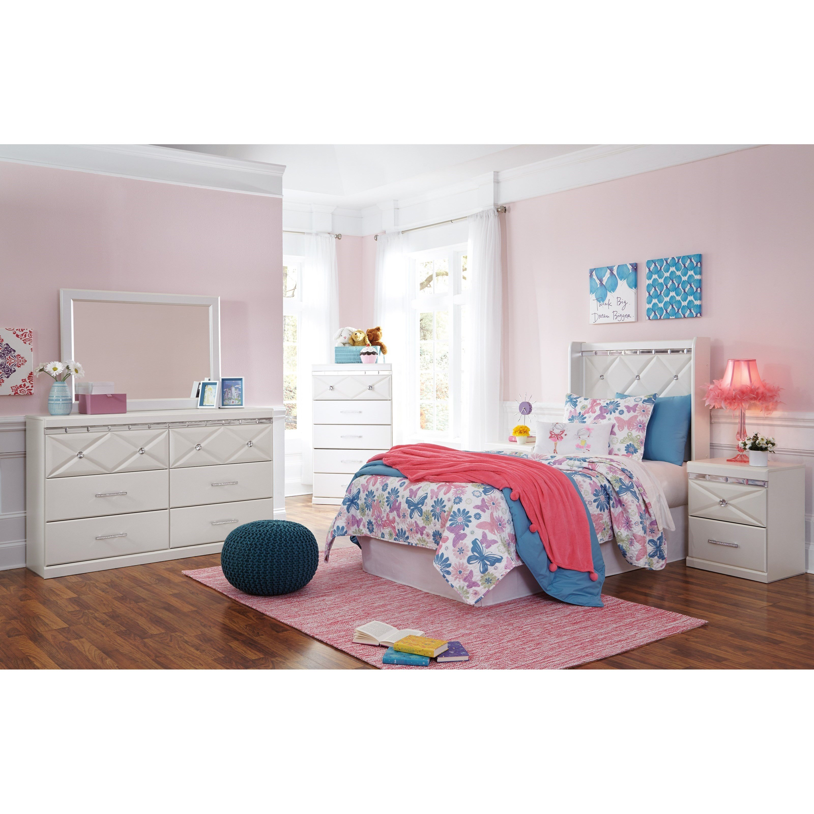 Best Signature Design By Ashley Dreamur Twin Bedroom Group With Pictures