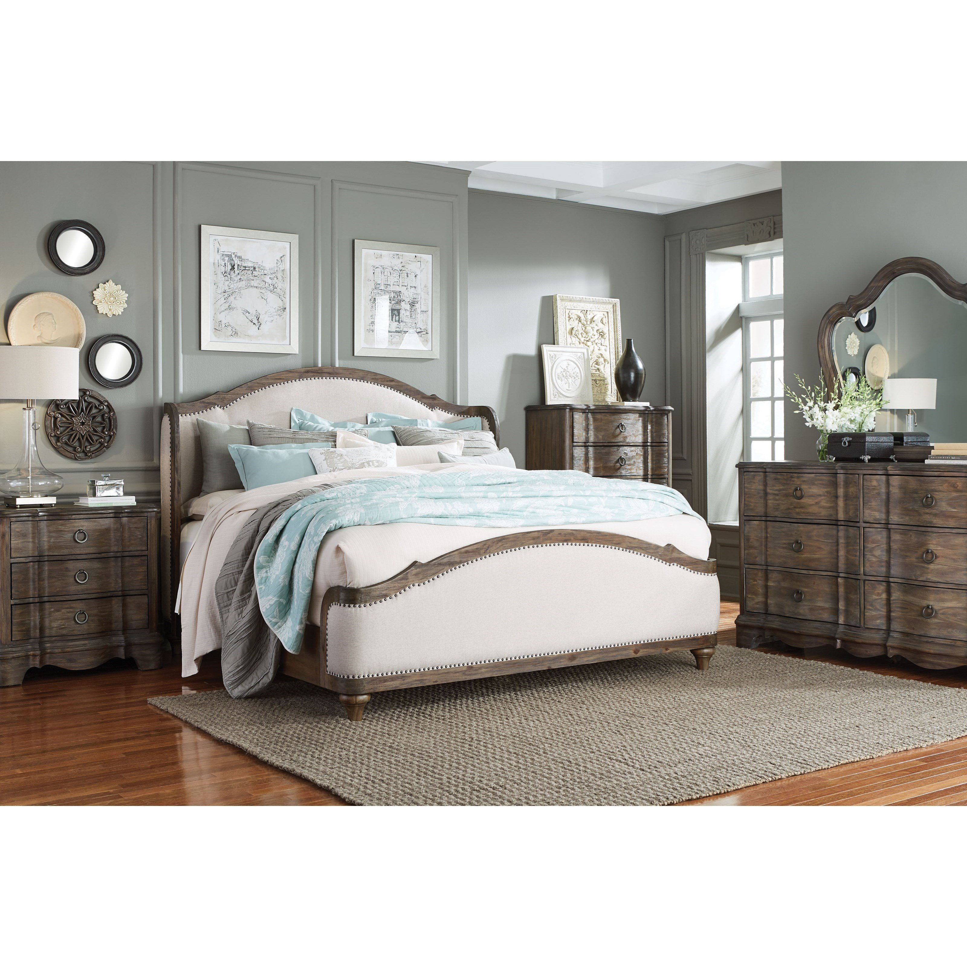 Best Standard Furniture Parliament King Bedroom Group Dunk With Pictures