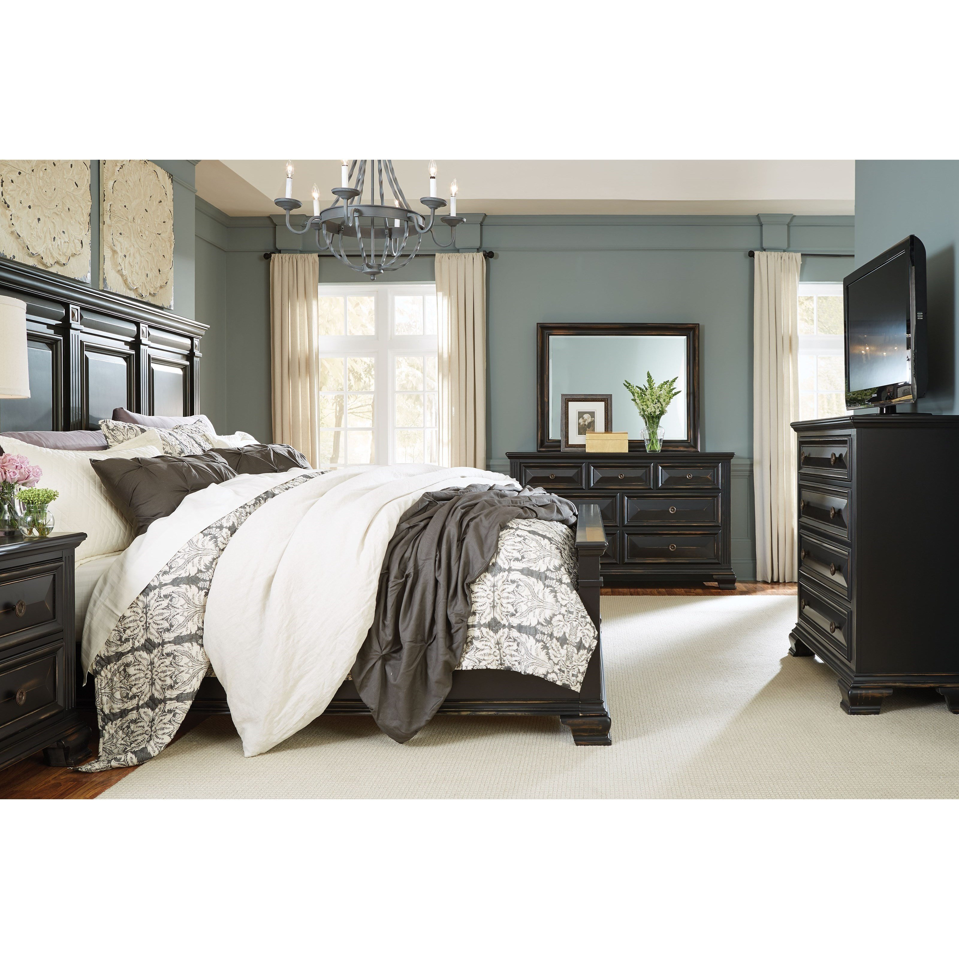 Best Standard Furniture Passages King Bedroom Group Furniture With Pictures