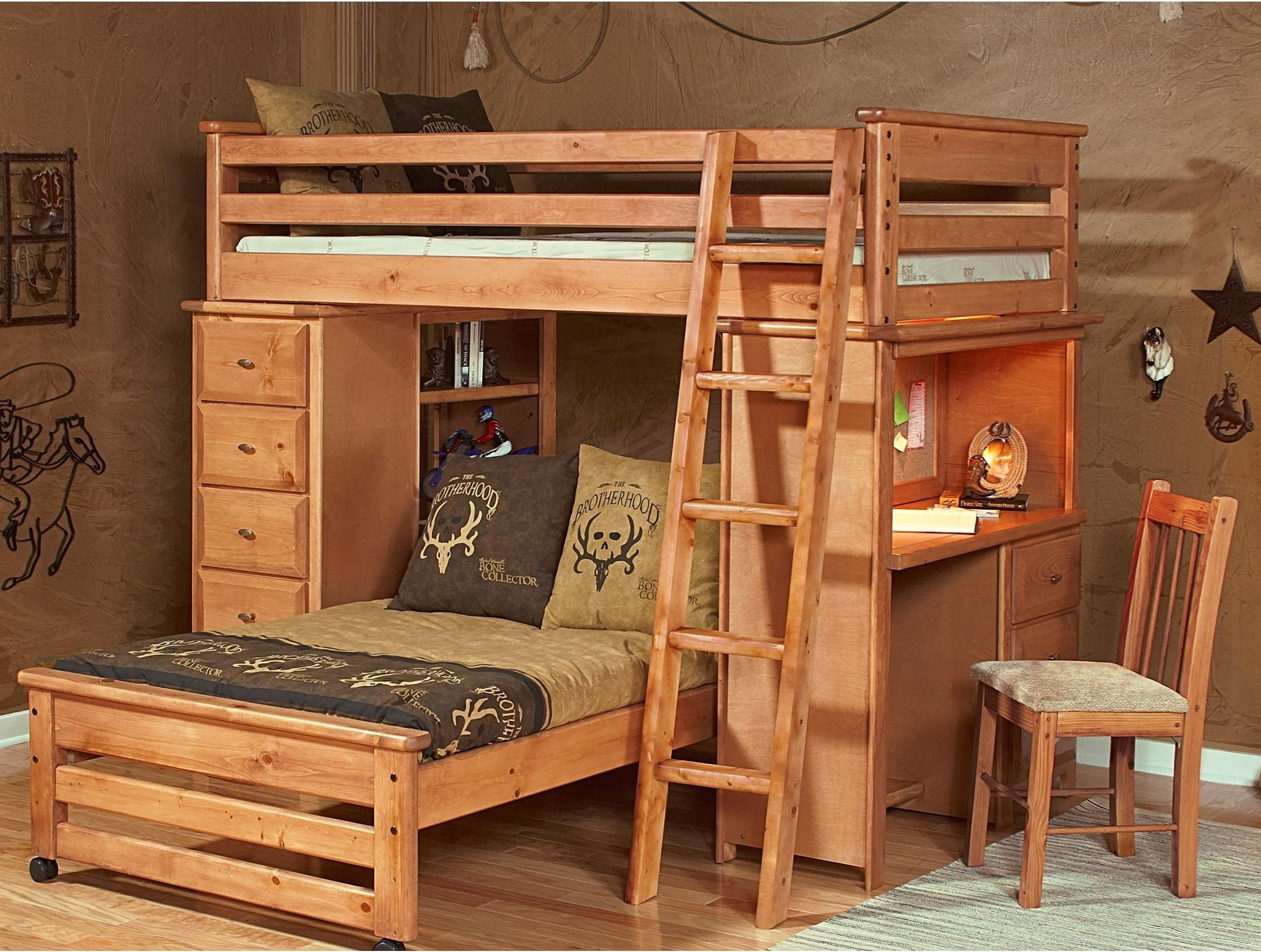 Best Vfm Signature Tw Laguna Loft Style Bunk Bed With Chest And With Pictures