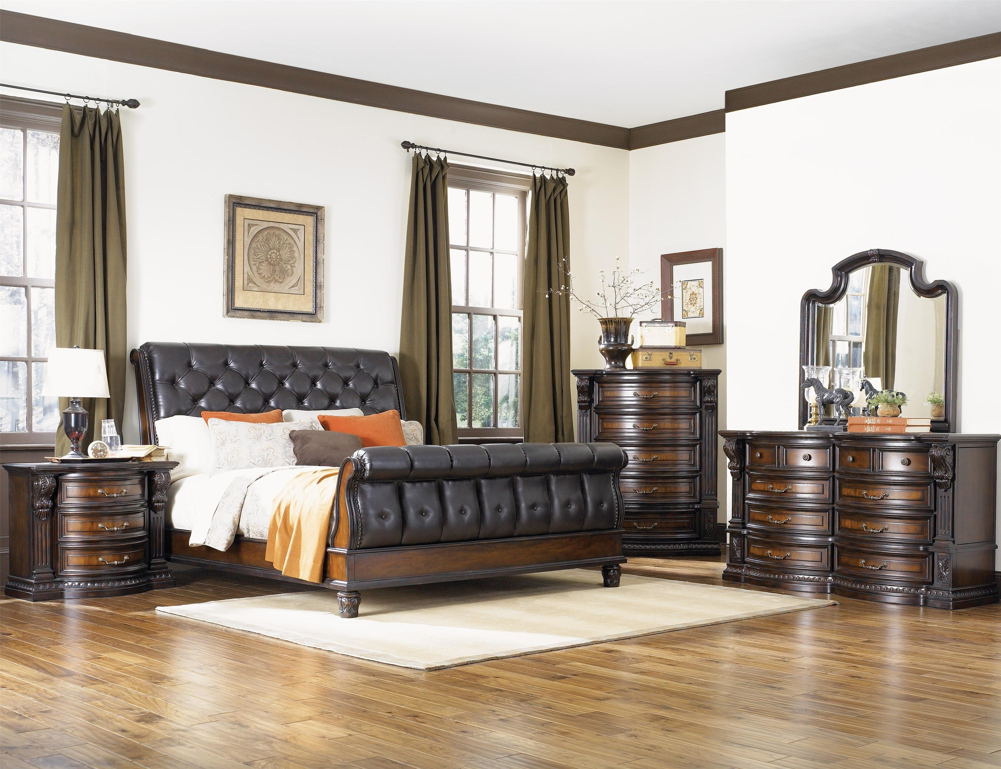 Best Fairmont Designs Grand Estates Queen 5 Piece Bedroom Group Royal Furniture Bedroom Groups With Pictures
