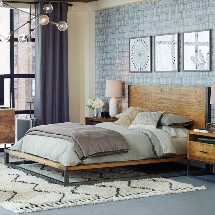 Best Eye Candy Industrial Bedrooms With A Modern Twist Curbly With Pictures