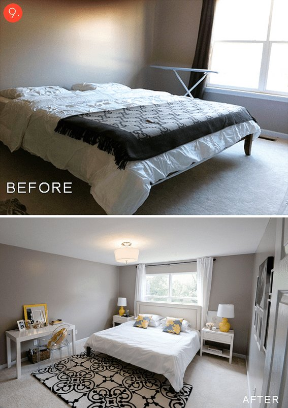 Best Roundup 10 Inspiring Budget Friendly Bedroom Makeovers With Pictures