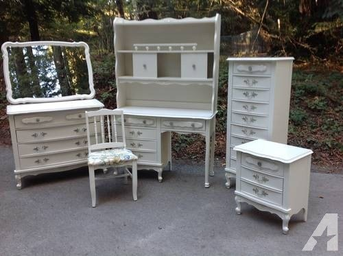 Best Shabby Chic French Provincial Bedroom Set For Sale In San With Pictures