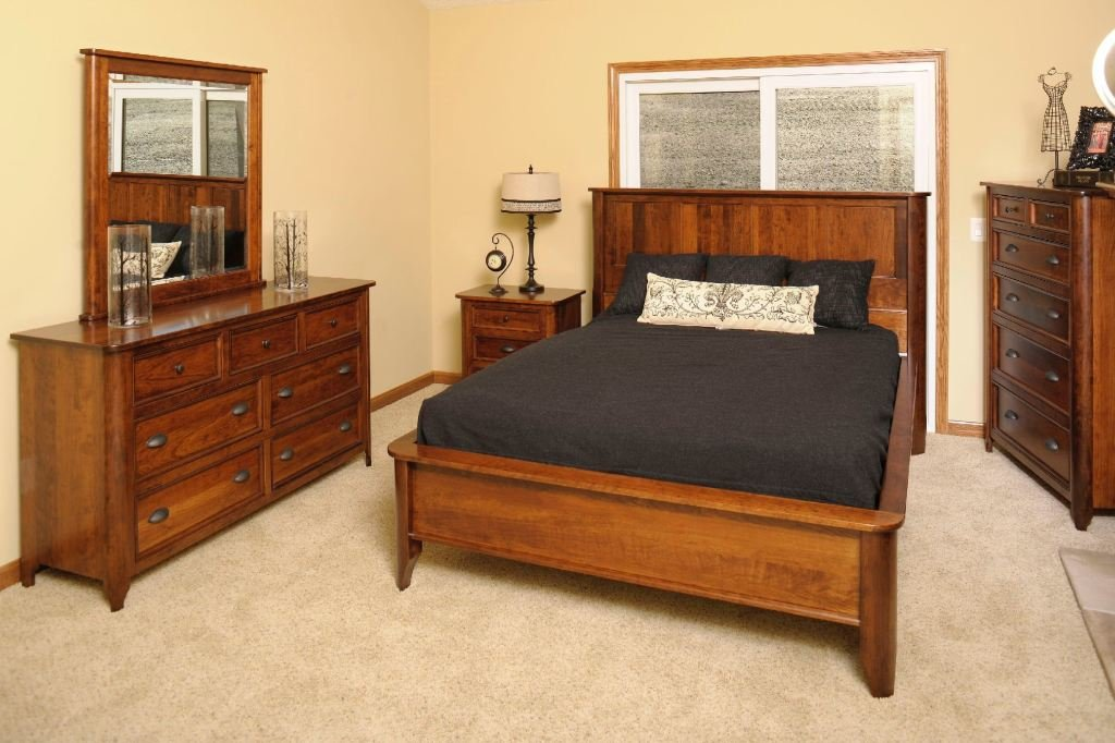 Best Yutzy Woodworking Bedroom Hudson Bed 1442 Whitley With Pictures