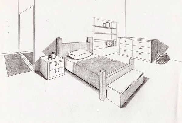 Best Perspective Bedroom By Gilstrap On Deviantart With Pictures
