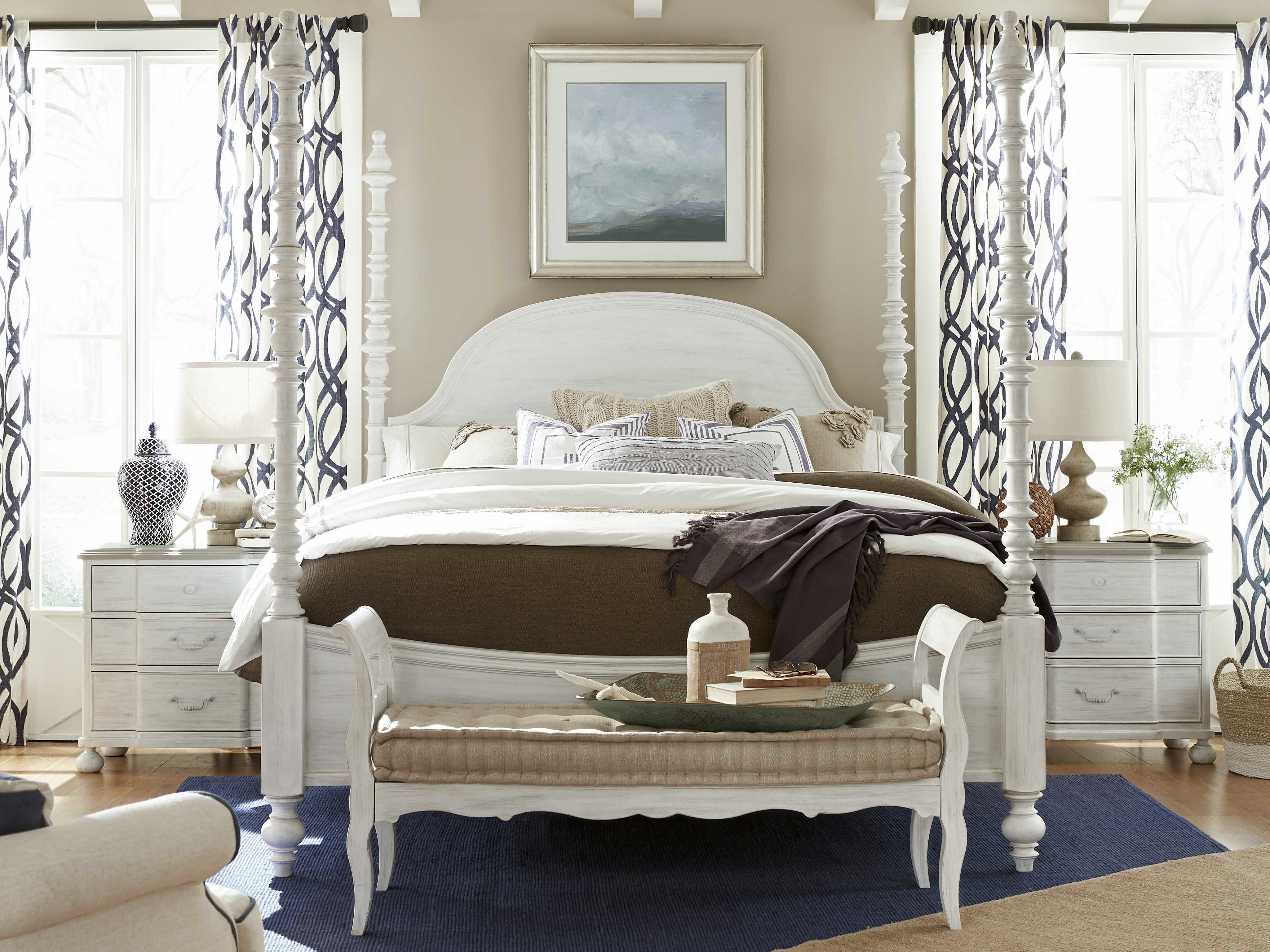 Best Paula Deen Home Dogwood Blossom Poster Bed Bedroom Set With Pictures