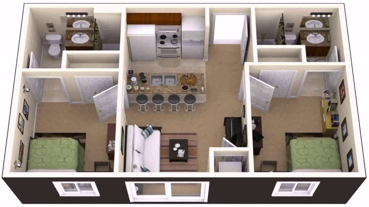 Best House Plans 2 Bedroom Basement Apartment Youtube With Pictures