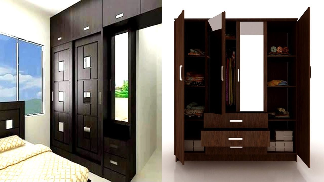 Best Bedroom Cupboard Design With Dressing Table Youtube With Pictures