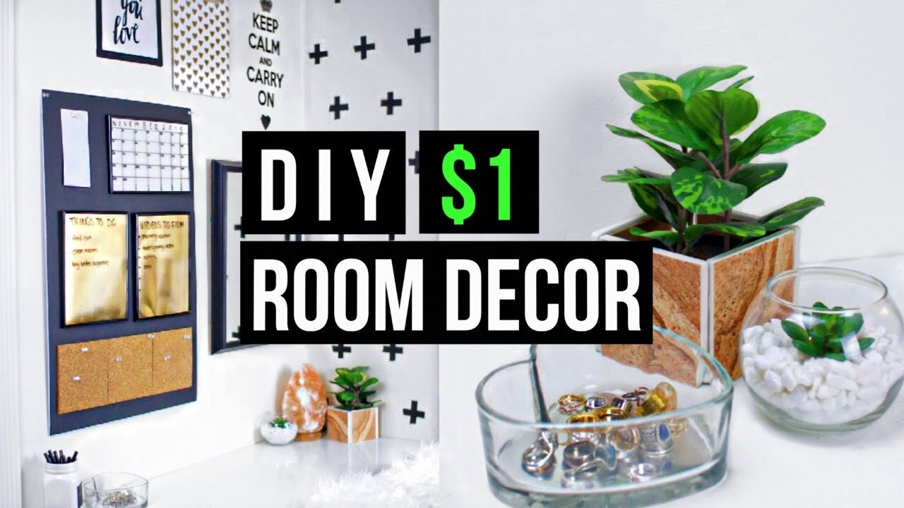 Best Diy 1 Room Decor 2015 Tumblr Pinterest Inspired Youtube With Pictures