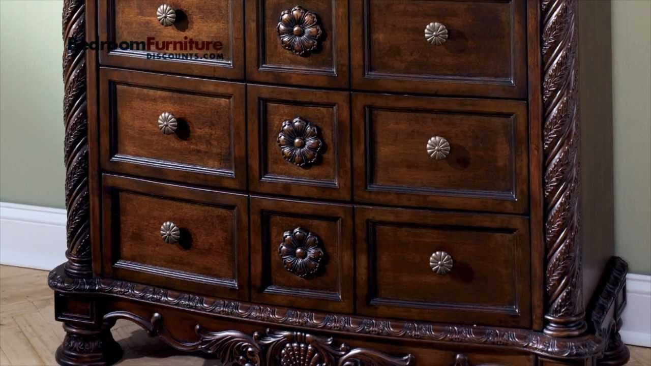 Best Ashley North Shore Sleigh Bedroom Set Sale Youtube With Pictures
