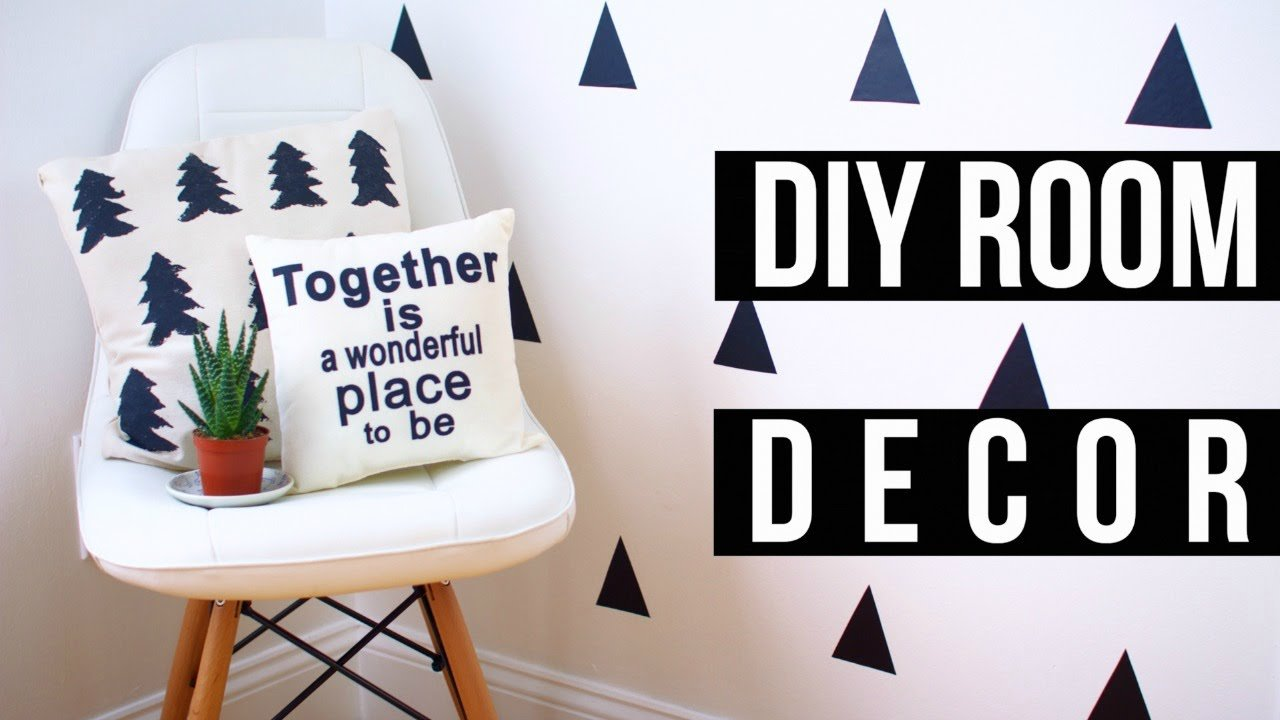 Best Easy Diy Pinterest Room Decor 2016 Youtube With Pictures