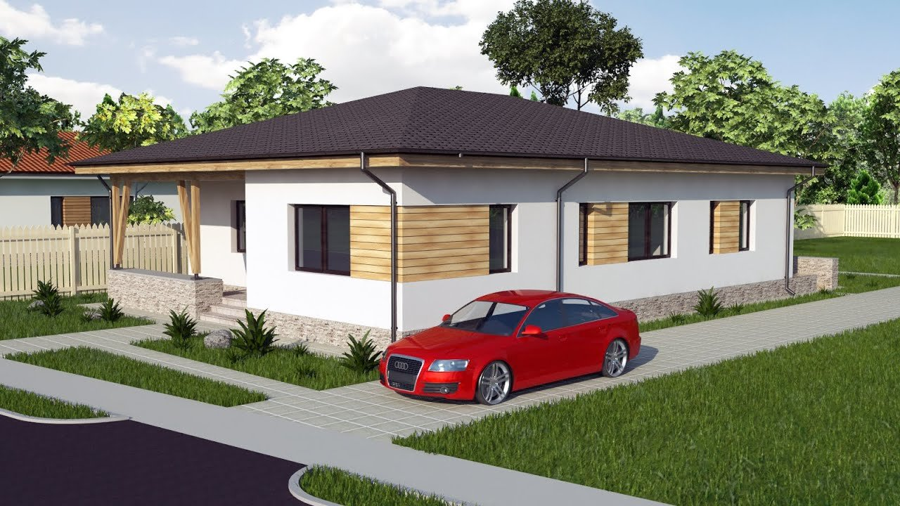Best Modern Bungalow House Design 3 Bedroom House Model A30 Youtube With Pictures