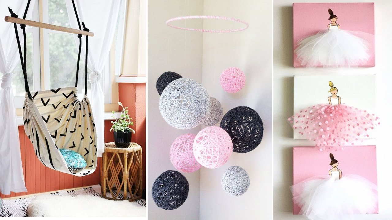 Best Diy Room Decor 15 Easy Crafts At Home Diy Ideas For Teenagers Diy Wall Decor Pillows Etc With Pictures