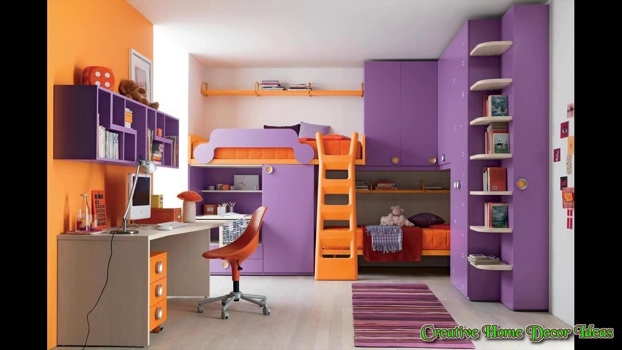 Best Orange And Purple Bedroom Youtube With Pictures