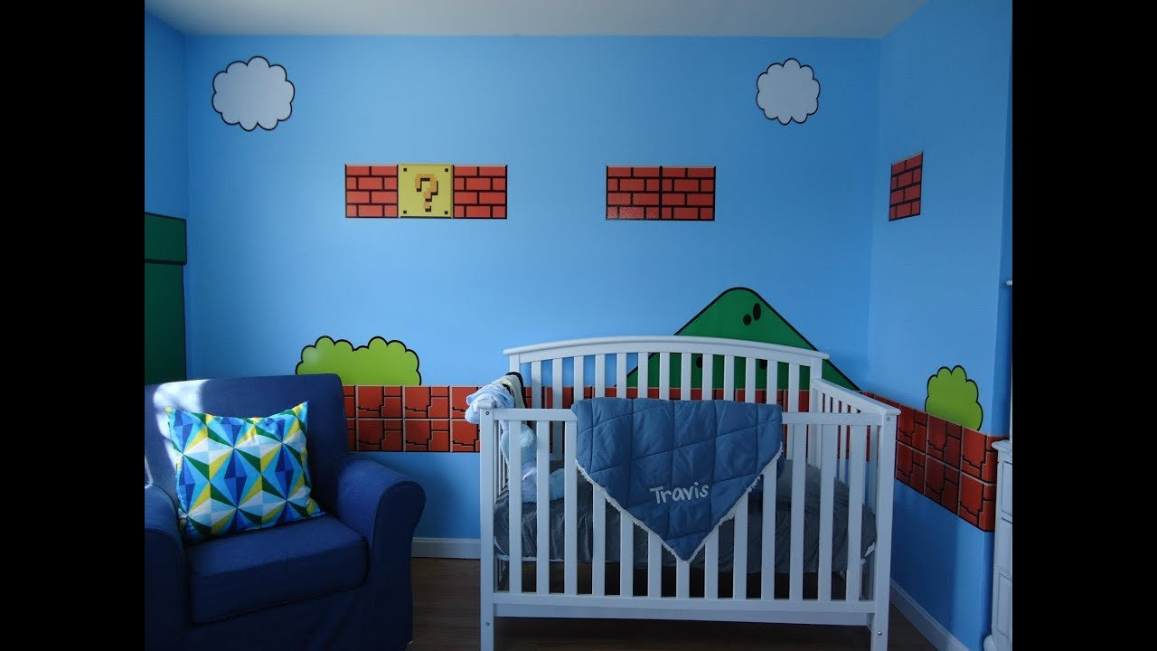 Best Super Mario Bros Bedroom By 401 Graphics Youtube With Pictures