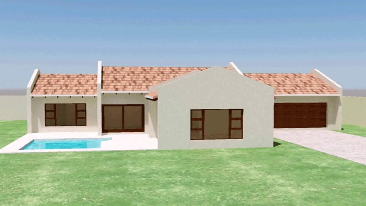 Best 3 Bedroom House Plans With Double Garage South Africa With Pictures
