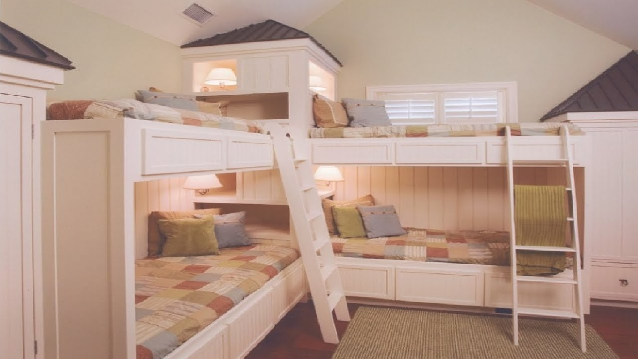 Best 30 Bunk Bed Ideas For Small Bedrooms Youtube With Pictures