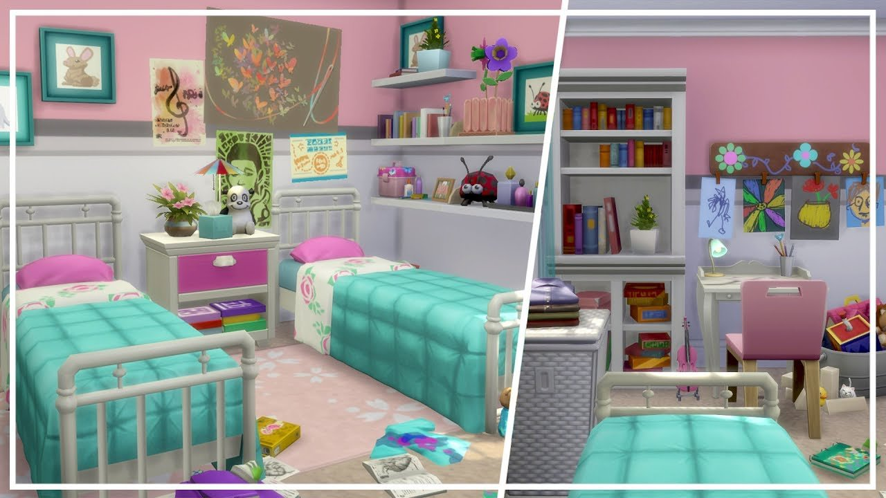 Best Kids Bedroom Ft Parenthood Pack The Sims 4 Room Build With Pictures