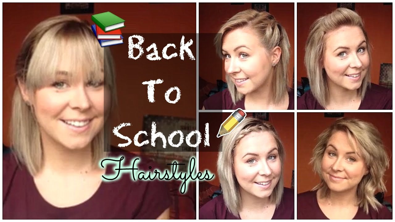 Free Back To School Quick Easy Hairstyles Shoulder Length Wallpaper