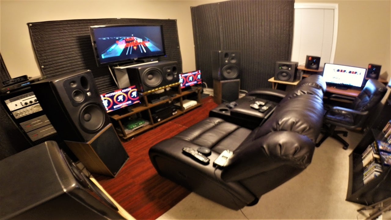 Best Building The Ultimate Gaming Room Mk 1 Youtube With Pictures