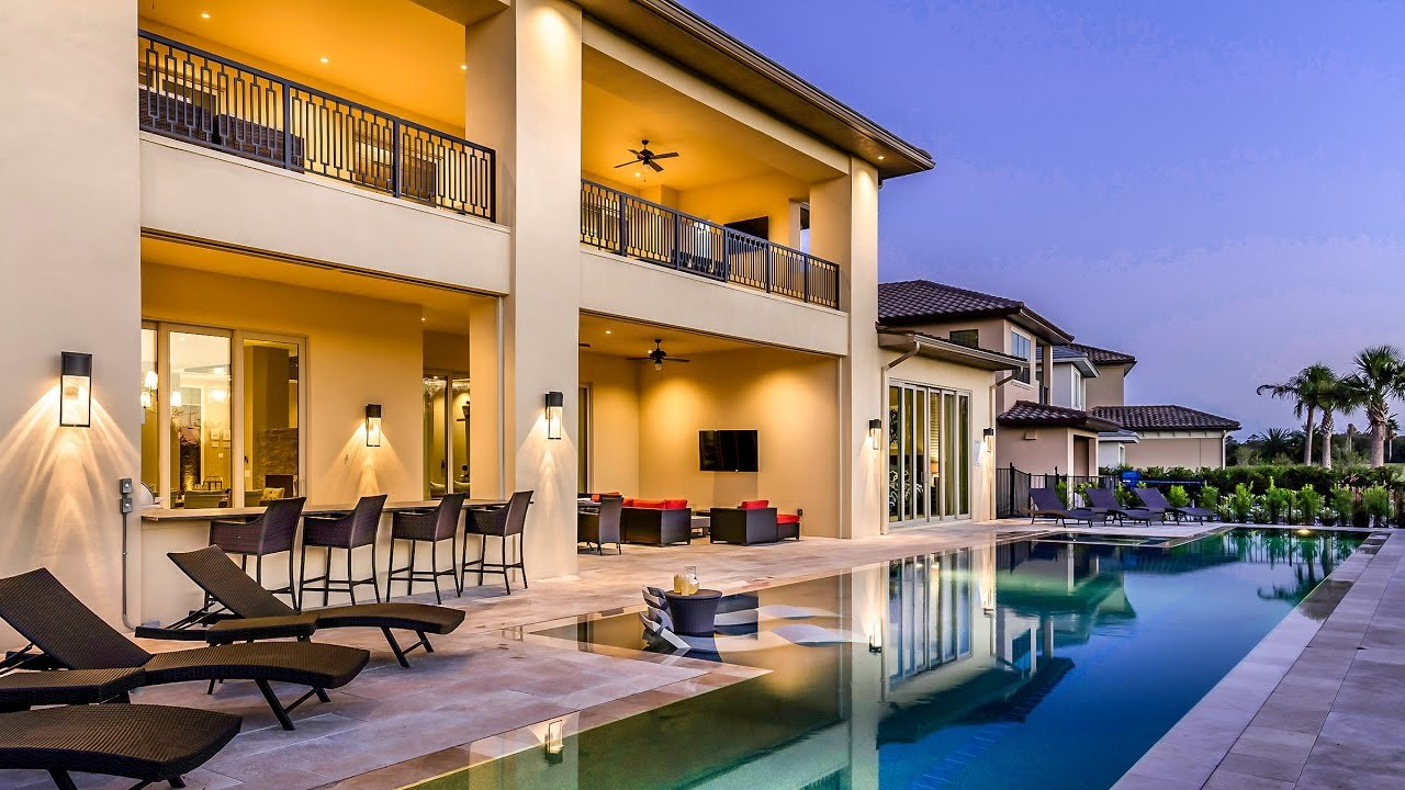 Best Amazing Vacation Homes Tour A 9 Bedroom Villa In Orlando With Pictures
