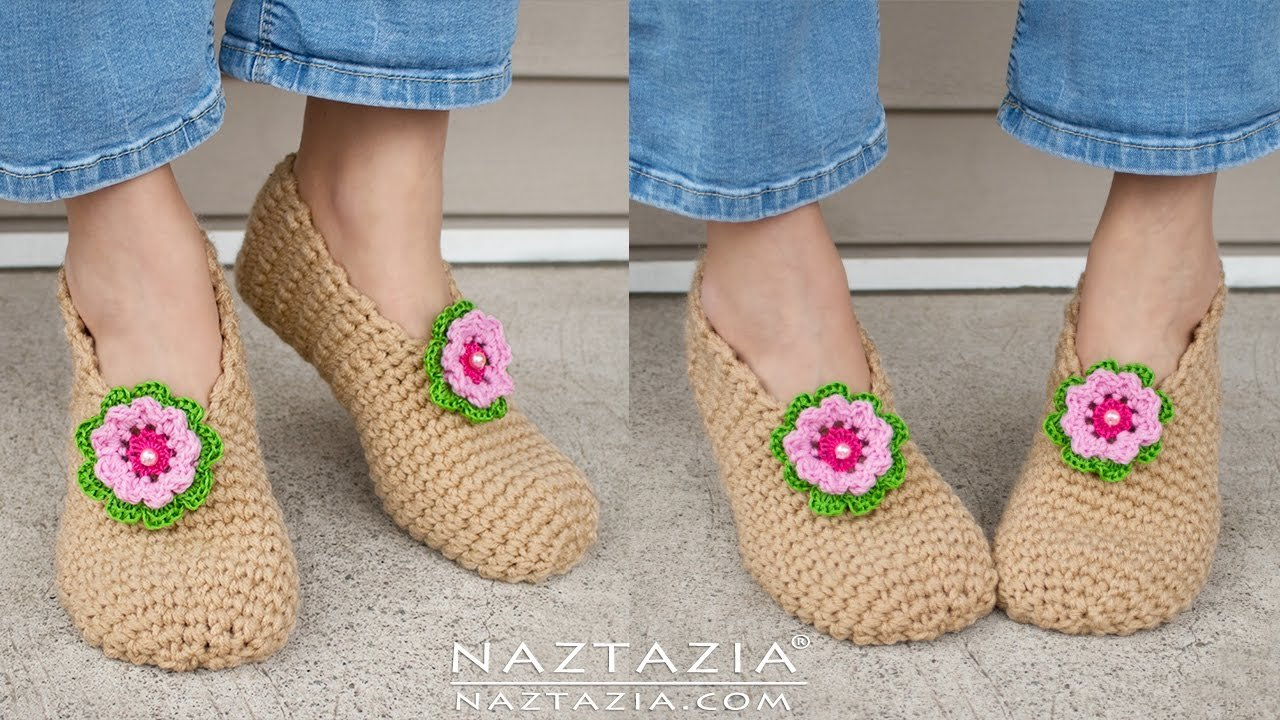 Best Diy Tutorial Crochet Sweet Simple Slippers Soft Shoes Booties Bedroom Slipper For Adults With Pictures