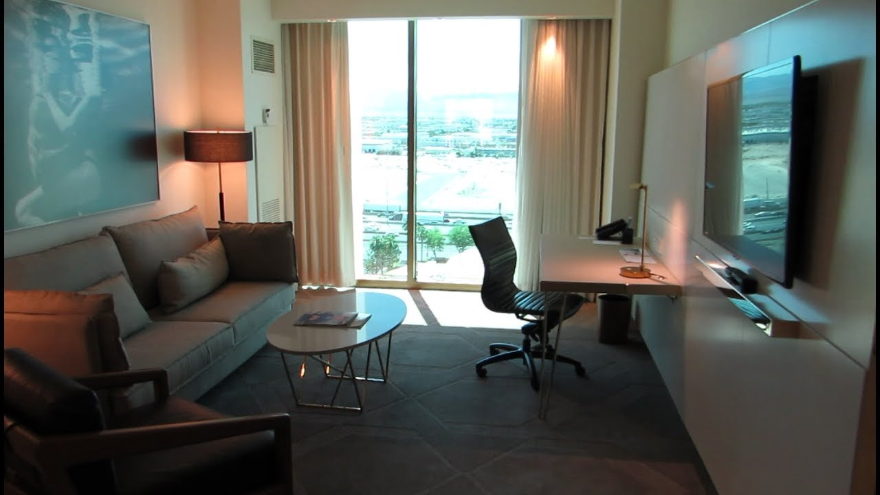 Best 2 Bedroom Suite Delano Las Vegas Youtube With Pictures