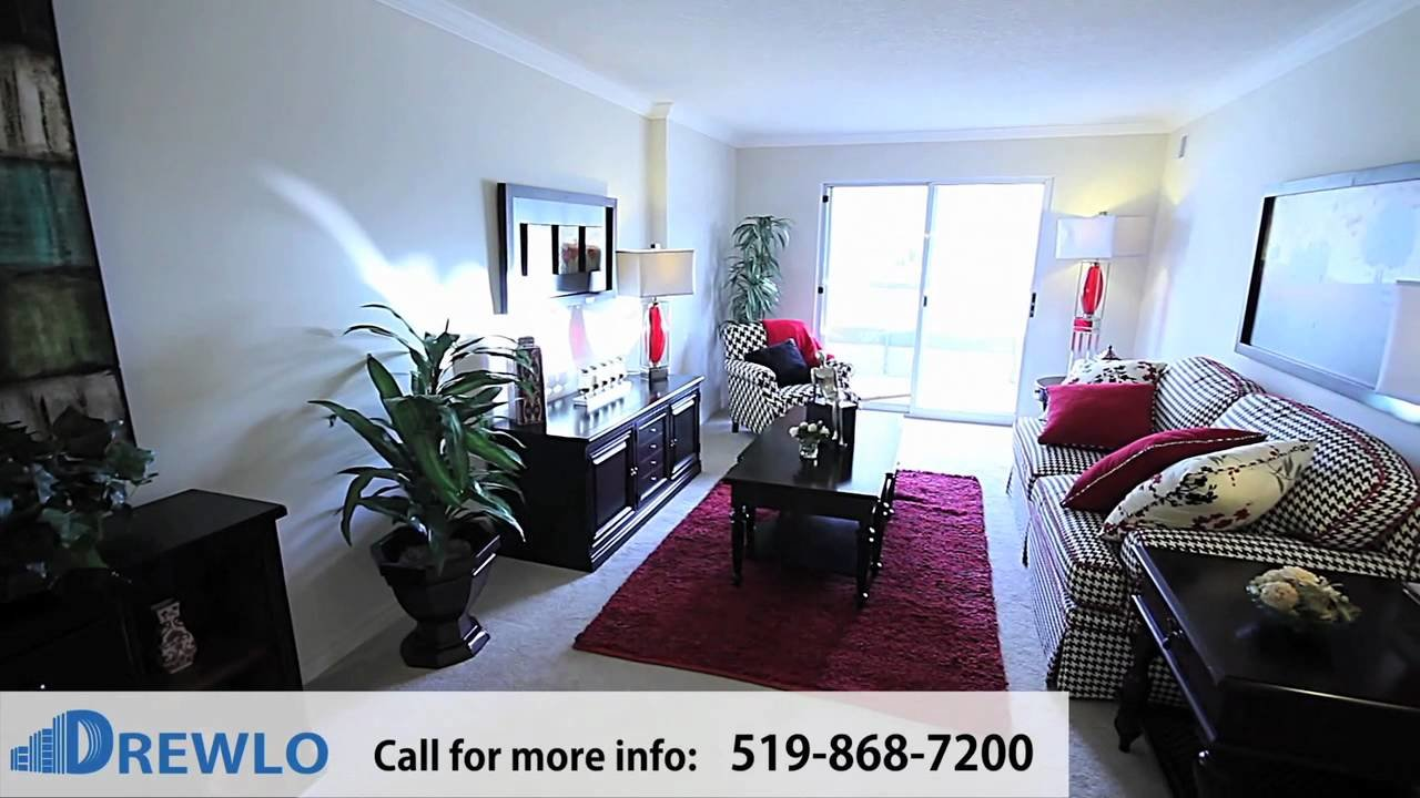 Best Capulet Towers Lawson Model 1 Bedroom Apartment For Rent London Ontario Youtube With Pictures