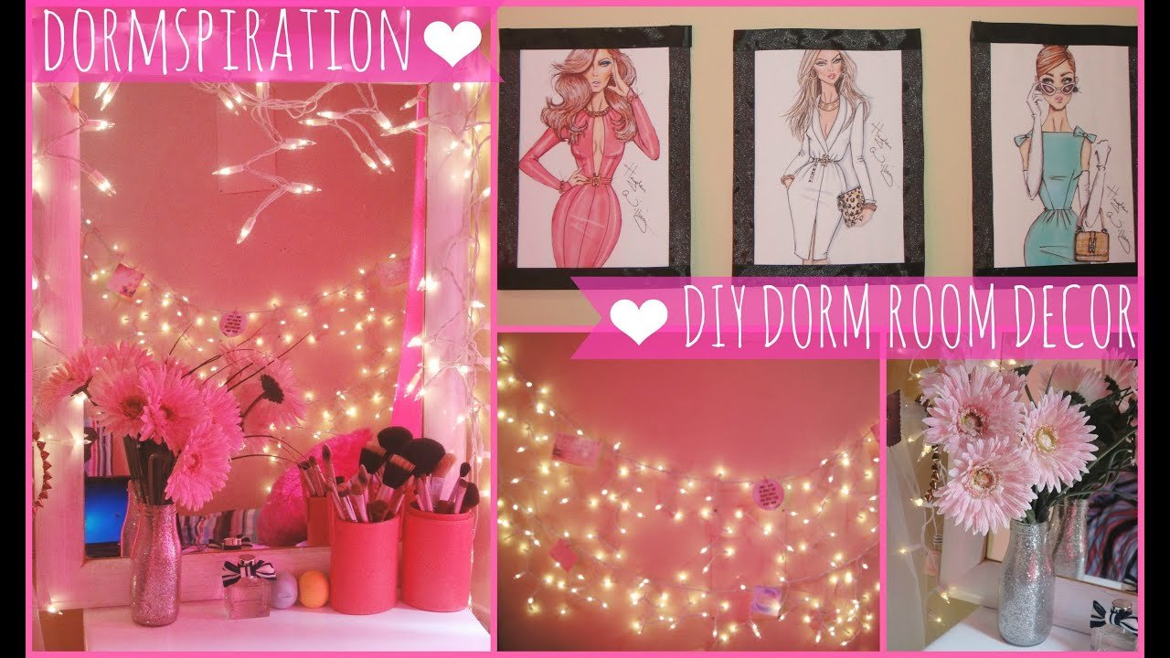 Best Dormspiration Diy Dorm Room Decor ♥ Youtube With Pictures