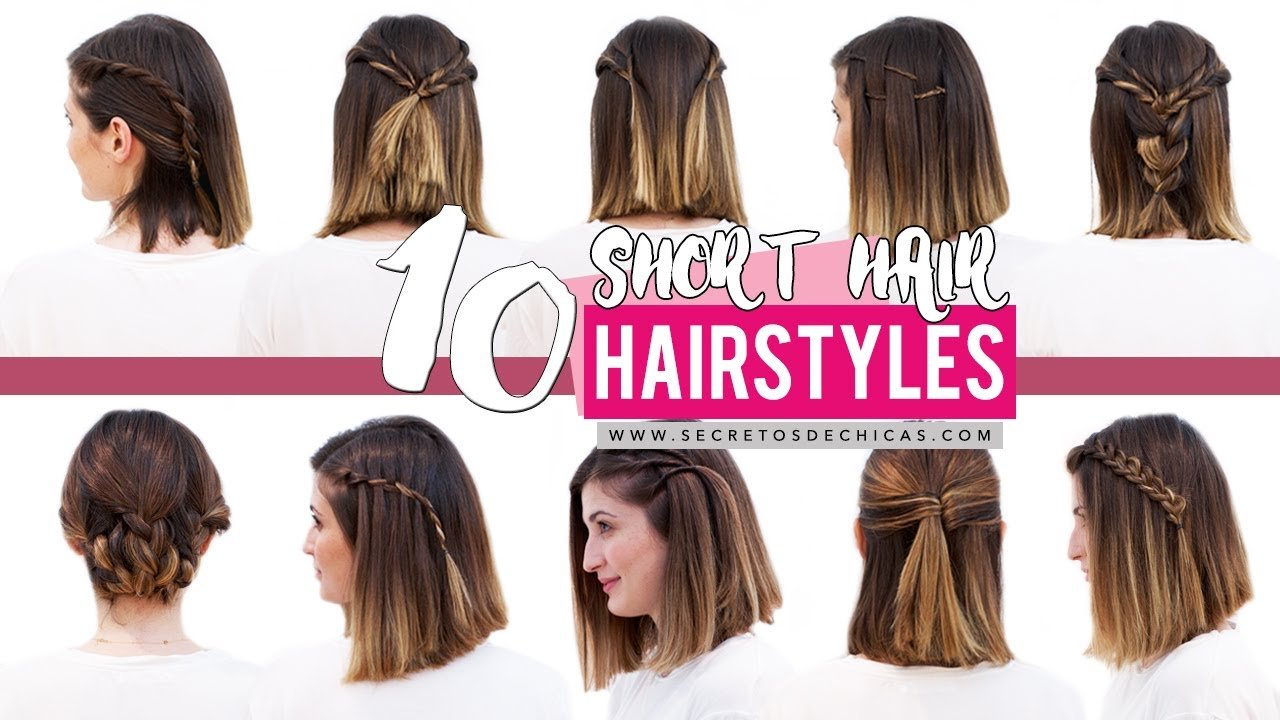 Free 10 Quick And Easy Hairstyles For Short Hair Patry Jordan Wallpaper