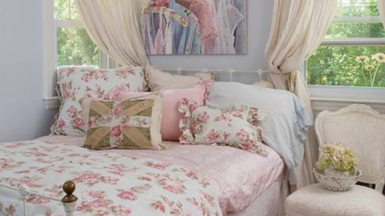 Best Sweet Shabby Chic Bedroom Decor Ideas On Budget With Pictures