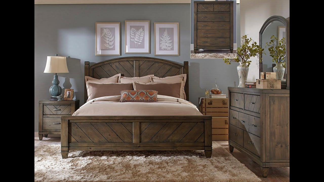 Best Modern Country Bedroom Set By Liberty Furniture Home With Pictures