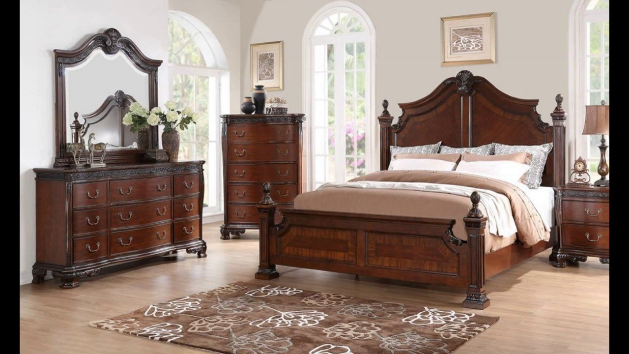 Best Mahogany Bedroom Furniture Youtube With Pictures