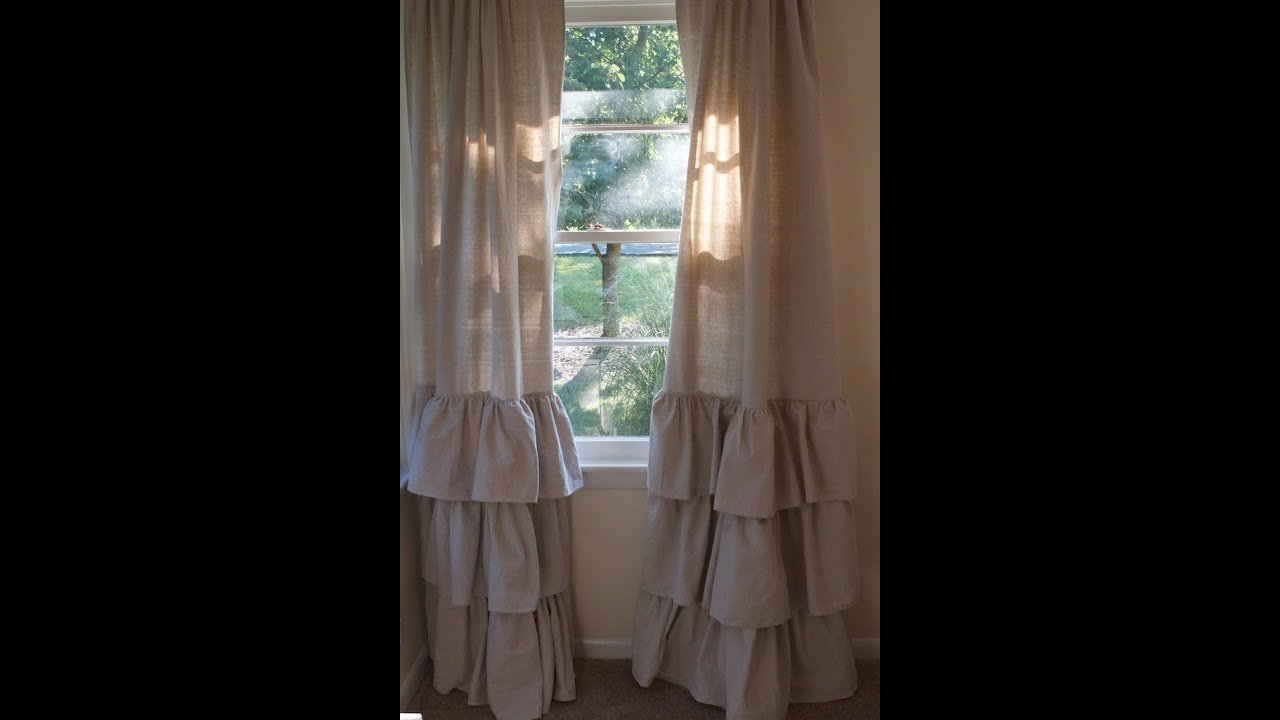 Best Ruffle Curtains Natural Ruffled Eyelet Curtains Next With Pictures