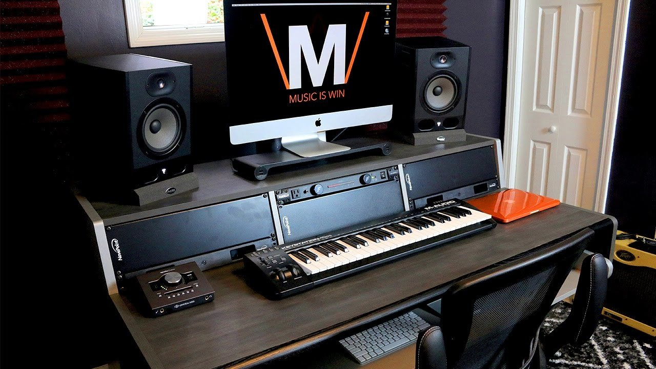 Best The Ultimate Home Studio Desk Youtube With Pictures