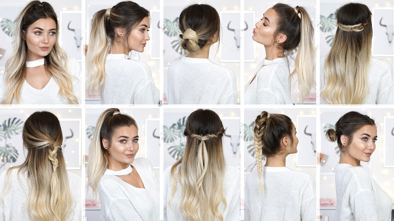Free 10 Easy Heatless Back To School Hairstyles Youtube Wallpaper