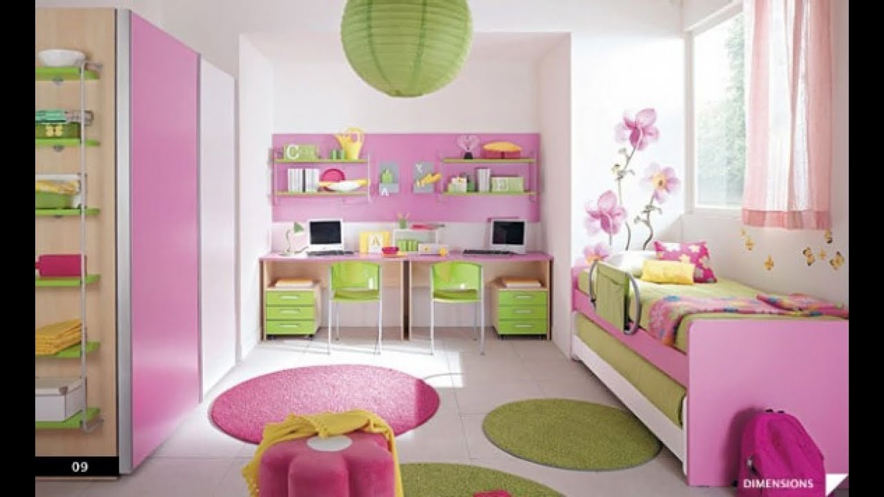Best Girls Bedroom Decorating Ideas Youtube With Pictures